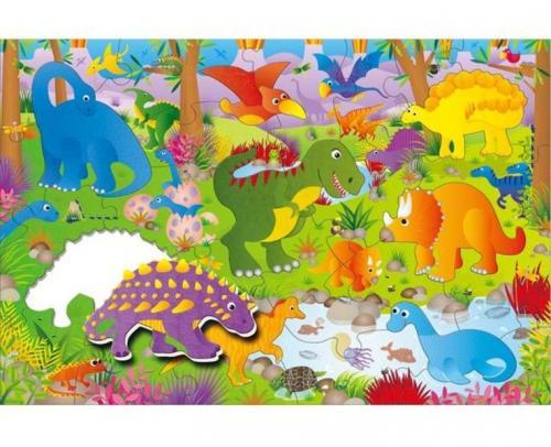 ADC Blackfire Galt Velké podlahové puzzle – dinosauři