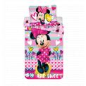 Jerry Fabrics Bavlněné povlečení Minnie sweet micro 140x200 cm