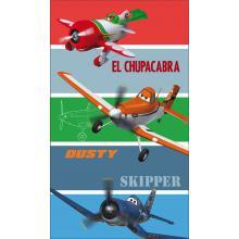 CTI Plážová osuška Planes Skipper 70 x 120 cm