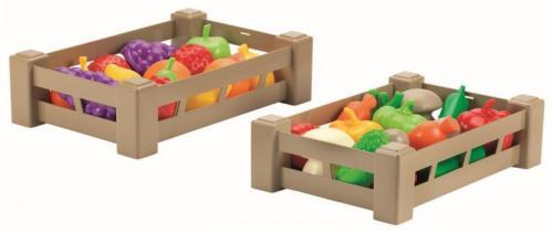 Ecoiffier Přepravka s ovocem nebo zeleninou