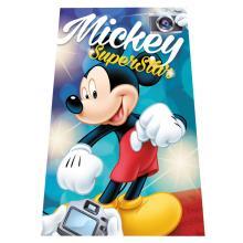 Euroswan fleece deka Mickey SuperStar 100x150 cm