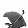 V ceně kočárku je nánožník, stříška na kočárek, madlo před dítě a nákupní košík. Hliníkový kočárek s pohodlným systémem skládání. Nový vylepšený design.