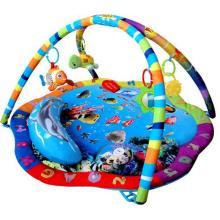Sunbaby hrací deka Podvodní svět s polštářkem