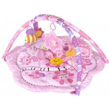 Sunbaby hrací deka Růžová květinka