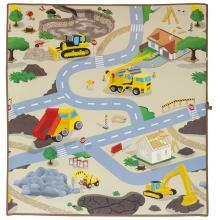 Scarlett dětský kobereček Staveniště - 120 x 100 cm