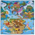 Scarlett dětský kobereček Mořská panna - 120 x 100 cm