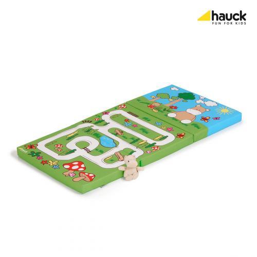 Hauck Sleeper matrace do cestovní postýlky Hippo green