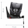 SWINGFIX M i-SIZE je nejvíce flexibilní volbou pro Vaše dítě – od 3 měsíců do 4 let (61-105 cm). Aby každá Vaše cesta byla zážitkem! Připevnění do vozidla proti směru jízdy pomocí systému ISOFIX a opěrné nohy.