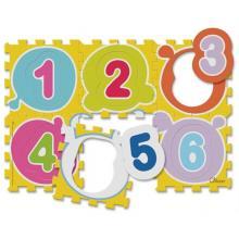 Chicco Puzzle pěnové Čísla