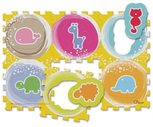 Chicco Puzzle pěnové Zvířátka