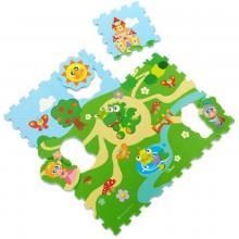 Chicco Puzzle pěnové Hrad