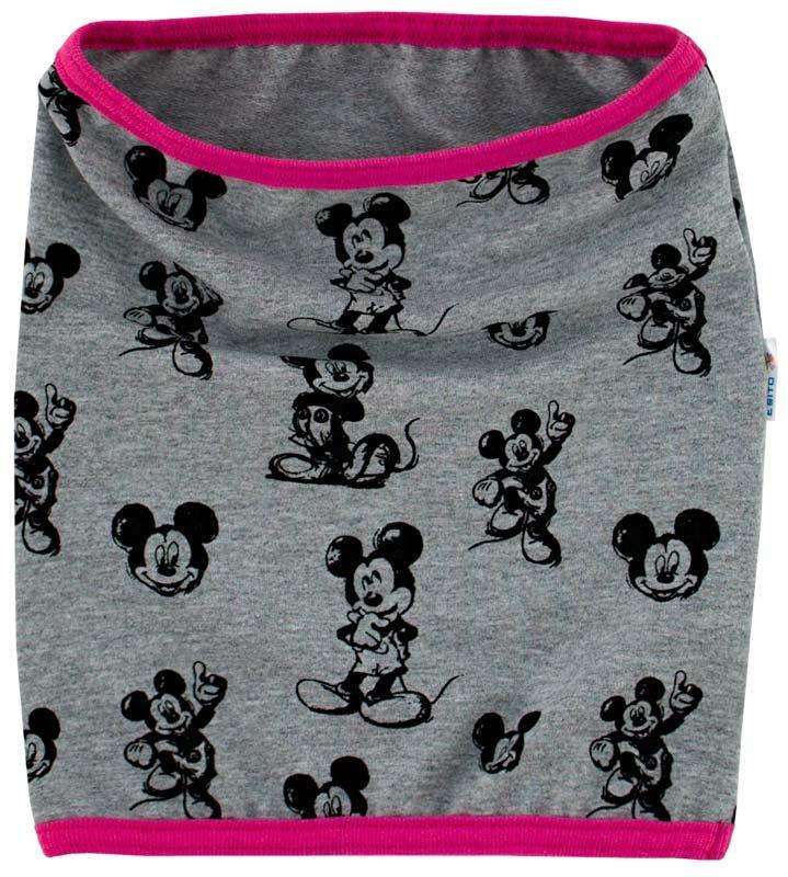 Dětský nákrčník nebo-li tunel na krk z kolekce Mickey Mouse. Ve dvou  barevných 3b1db3fa20