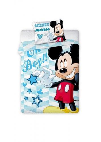 Faro povlečení do postýlky Mickey Mouse 135x100 cm