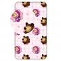 Prostěradlo Máša a Medvěd je ze 100% bavlny. Prostěradlo má v rozích našitou gumičku, dobře drží na matraci.