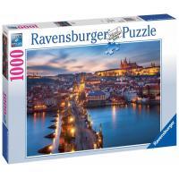 Ravensburger Praha v noci 1000 dílků
