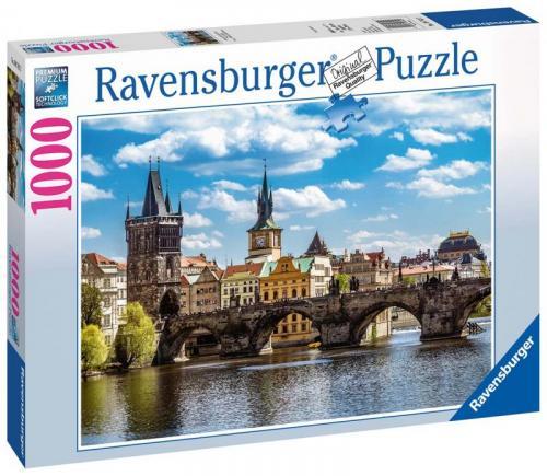 Ravensburger Praha Pohled na Karlův most 1000 dílků