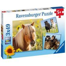 Ravensburger Koně, 3x49 dílků