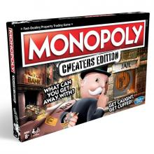 Hasbro Hra Monopoly Cheaters edition CZ