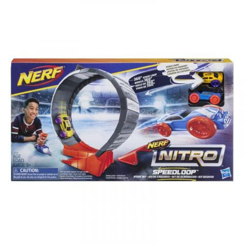 Hasbro Nerf Nitro Speedloop překážka