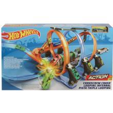 Mattel Hot Wheels Spirálová jízda