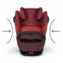 Autosedačka kategorie I/II/III s isofixem, 9 - 36 kg, od cca 9 měsíců až do 12 let. Autosedačka Pallas M-fix - bezpečnost bez omezení.