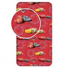 Jerry Fabrics prostěradlo Cars Red 2 90/200 cm