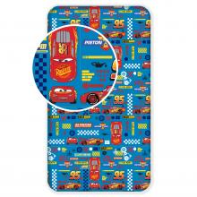 Jerry Fabrics prostěradlo Cars Blue 2 90/200 cm