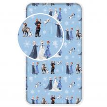 Jerry Fabrics prostěradlo Ledové Království winter 90/200 cm