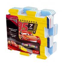 Teddies Pěnové puzzle Cars 3/Auta 32x32, 8ks