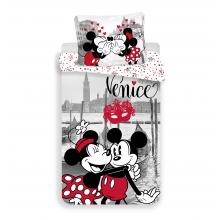 Jerry Fabrics Bavlněné povlečení Mickey a Minnie v Benátkách 140x200 cm