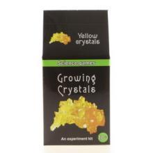 Lamps Mini chemická sada - rostoucí krystaly - žluté