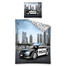 Detexpol Bavlněné povlečení Policejní auto 140x200