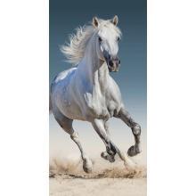 Jerry Fabrics Plážová osuška Kůň 03, 70x140 cm