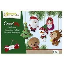 Avenue Mandarine, Kreativní sada Vánoční dekorace k ušití