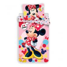 Jerry Fabrics Povlečení Minnie pink 02 micro 140x200 cm