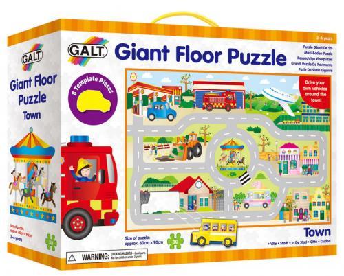 ADC Blackfire Velké podlahové puzzle - město