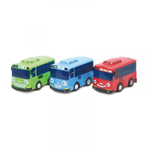 Tayo the Little Bus Autobusy s wind up systémem - 3ks