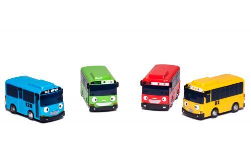 Tayo the Little Bus Set autobusů – 4 ks