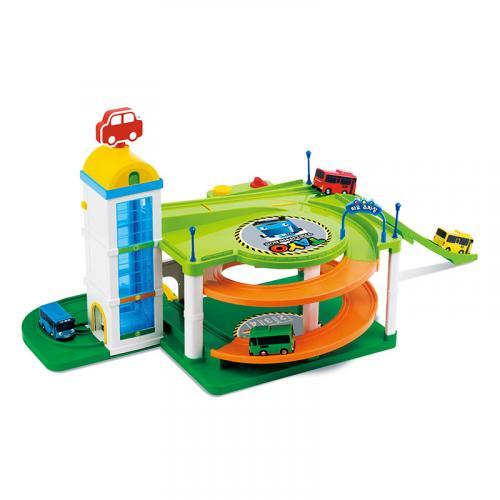 Tayo the Little Bus Tayo parkoviště s výtahem