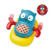 Skip Hop Zoo hračka plavoucí a pádlujíci sovička 12m+