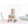 Měkká textilní hračku Tiny Love v podobě usměvavého bobra.