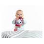 Měkká textilní hračka Tiny Love v podobě barevného ježečka chrastí, šustí askáče na pružné šňůrce.