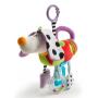 Závěsná hračka cinká, chrastí a nabízí množství různých aktivit pro zábavné hraní a zkoumání.