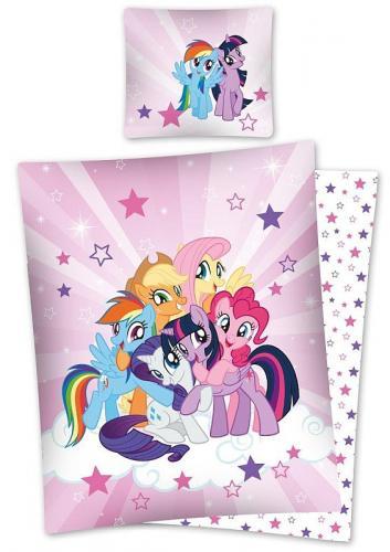 Detexpol Bavlněné povlečení My Little Pony 140x200 cm