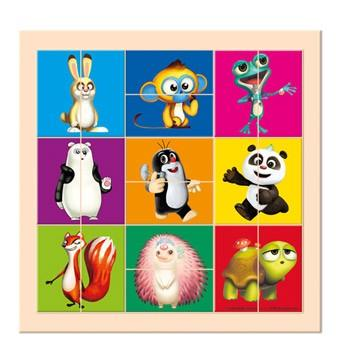 Bino Krtek a Panda, dělené hlavičky