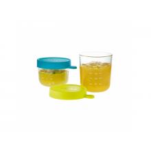 Beaba Kelímek na jídlo skleněný 2ks 150ml / 250ml