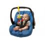 Plyšová hračka na vibrační šňůrce, kterou může děťáko samo přitahovat.