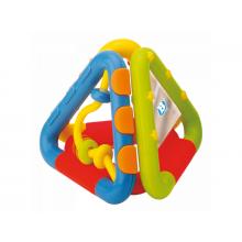 B-kids Chrastítko skládací trojúhelníky