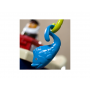 13 jednotlivých hraček: loď, kapitán, záchranný kruh, rybky, kelímky, kartáček ve tvaru velryby, hřebínek ve tvaru chobotnice...