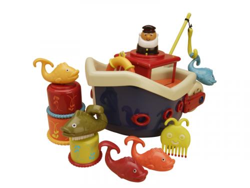 B.toys Loď s kapitánem Fish & Splish